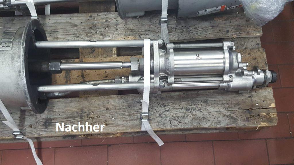 fertige Pumpe repariert