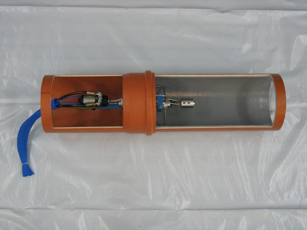 Rohrinnenbeschichtung Rohrwurm