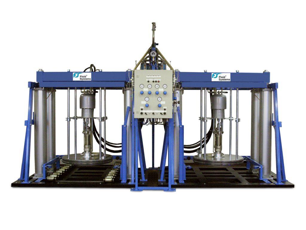 1000 Liter RAM Anlage Containerentleerung