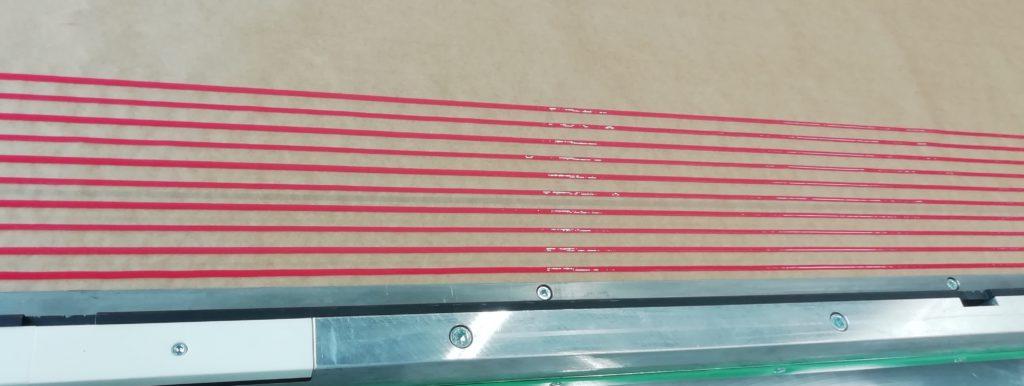 Statikmischer Kleberanlage, Kleber, Kleben u. Dichten Kleber auftragen, Klebematerial mischen Material mischen Kleberanlage, Misch u. Dosieranlagen Kleber auftragen kleben und dichten Statik Mischer Mischen Klebematerial dynamisches Fahrprofil programmiert schnelle Auftragsgeschwindigkeit